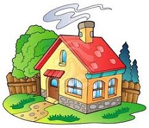 Free Cottage Clipart.