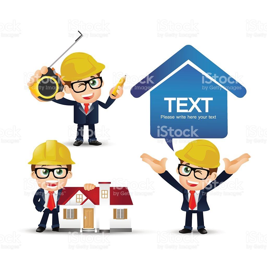 People Set Profession Engineer Set stock vector art 503718586.