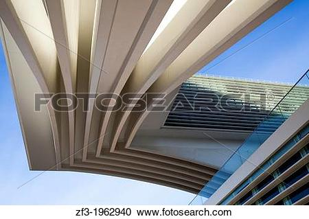 Stock Photography of Conference and Exhibition Centre of Oviedo.