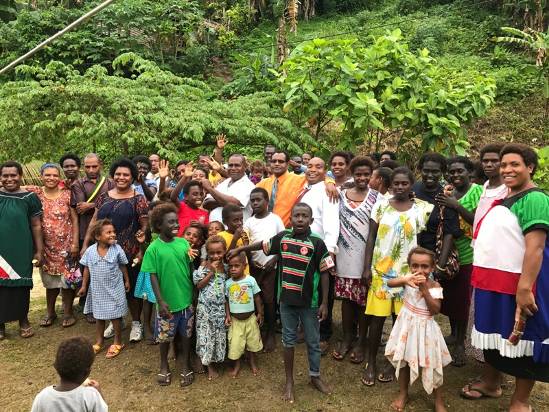 Buka (PNG) Christmas Camp.