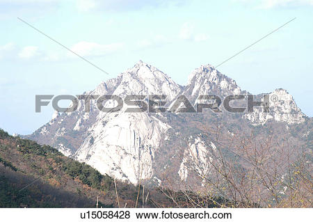 Pictures of scene, mountain, mtbukhan, bukhansan, rock, view.