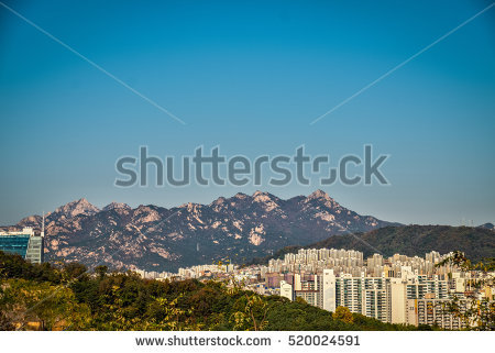 Landscape Seoul View Stock Photos, Royalty.