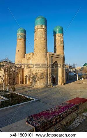 Stock Photography of Uzbekistan, Bukhara, Unesco world heritage.