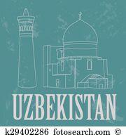 Bukhara Clipart and Illustration. 30 bukhara clip art vector EPS.