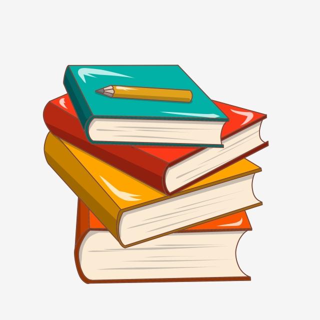 Book Pencil Study Book, Four Books, A Pen, Pen PNG Transparent.