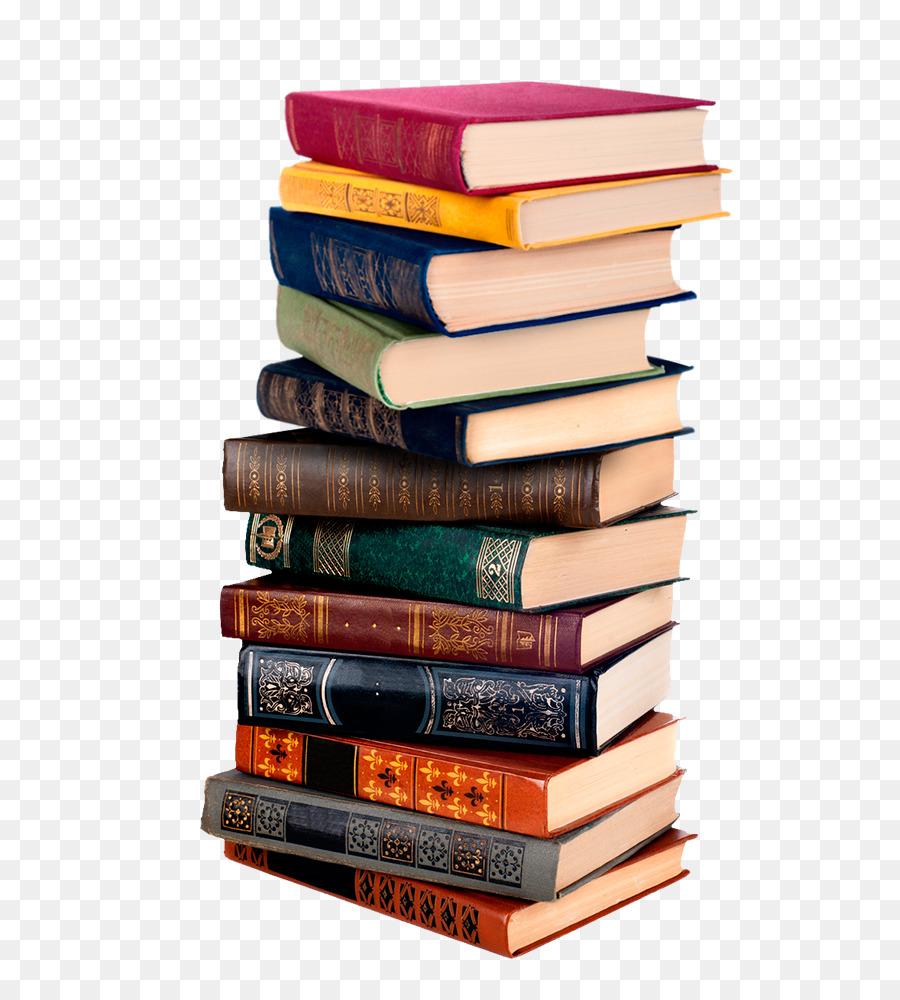 Book Stack png download.
