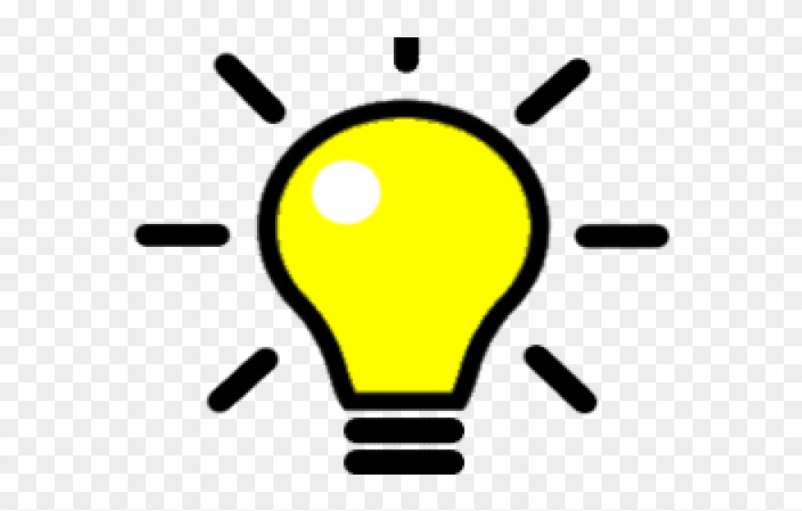 Bulb Clipart Enlightenment Thinker.