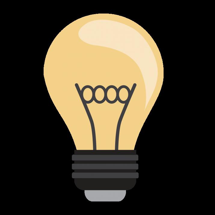 Bulb Clipart PNG.
