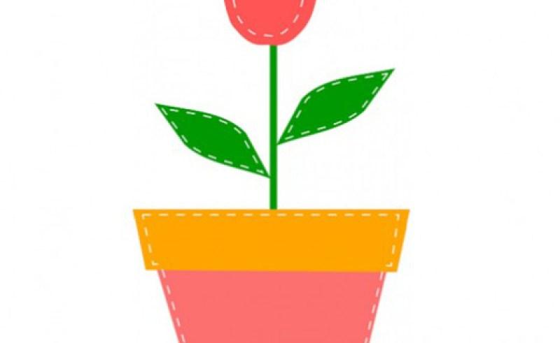 Flower Bulb Clip Art.