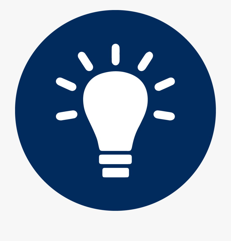Light Bulb Icon White Clipart , Png Download.