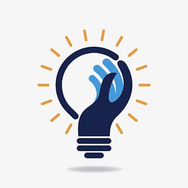 Creative Bulb Logo, Logo Clipart, Corporate Logo, Company.