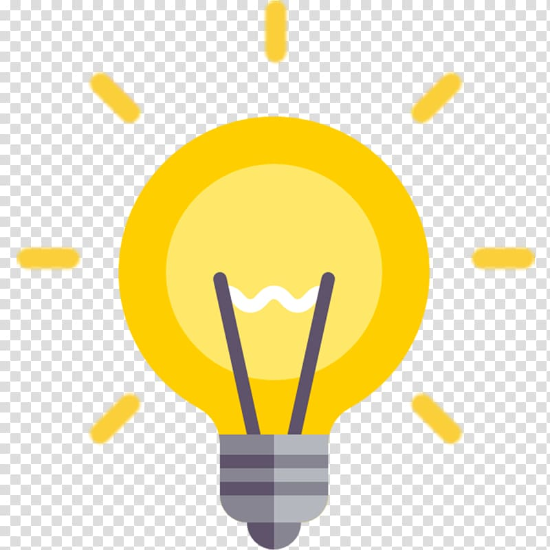 Yellow and gray light bulb , Incandescent light bulb.