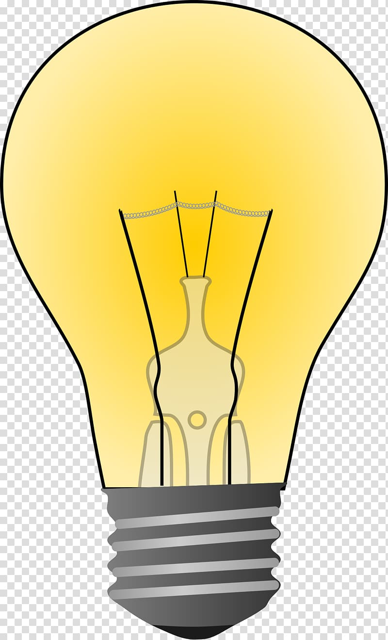 Lamp clipart light bulb, Lamp light bulb Transparent FREE.