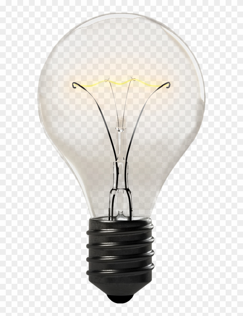 Picture Transparent Download Light Bulb Isolated Electricity.