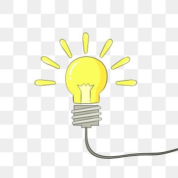 Cartoon Light Bulb PNG Images.