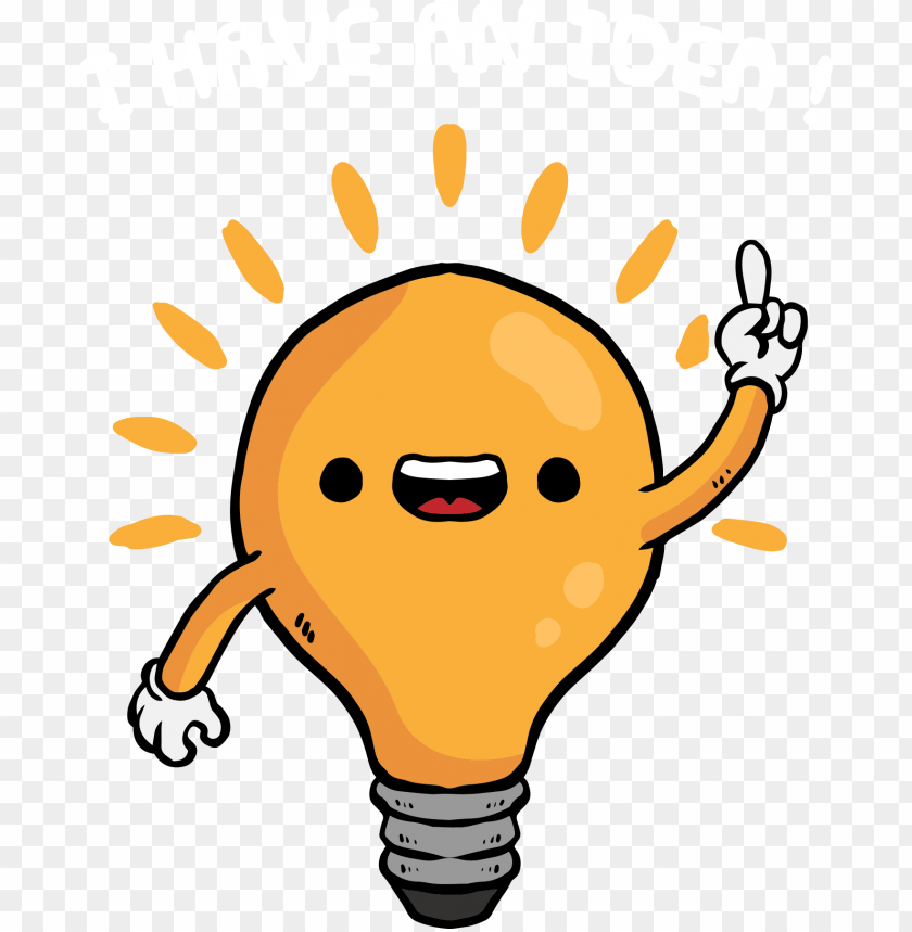 funny light lamp vector bulb cartoon clipart.