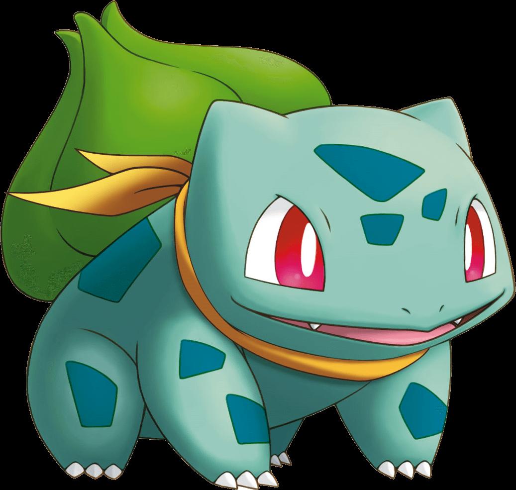 Bulbasaur Pokemon transparent PNG.