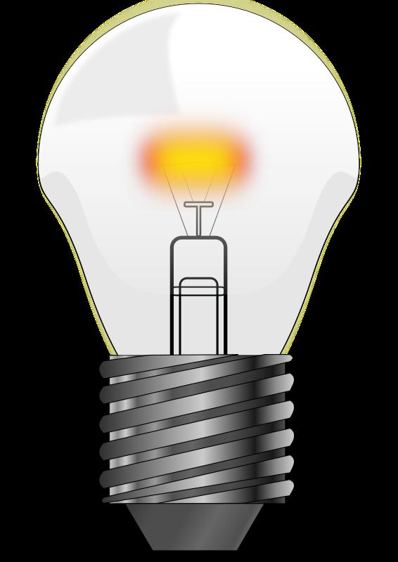 Led bulbs clipart.