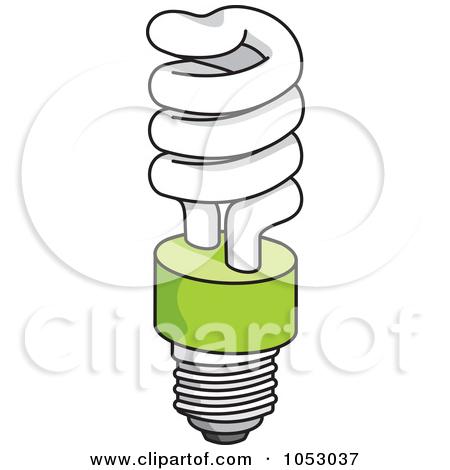 Fluorescent light bulbs clipart.