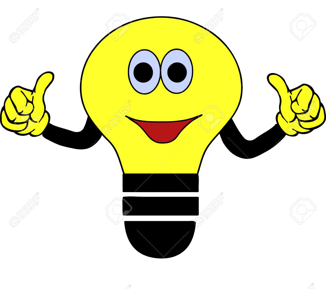 Light Bulb Clip Art.