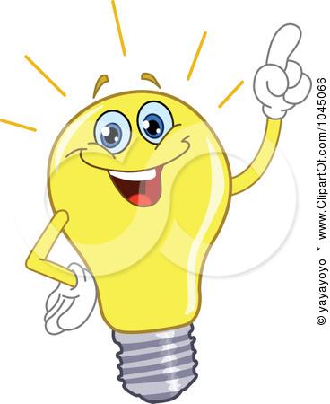 Light bulbs clipart.