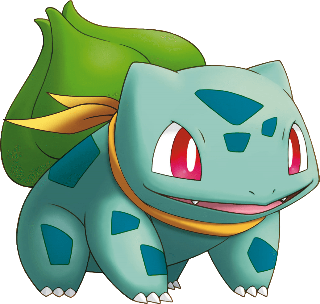 Bulbasaur Pokemon transparent PNG.