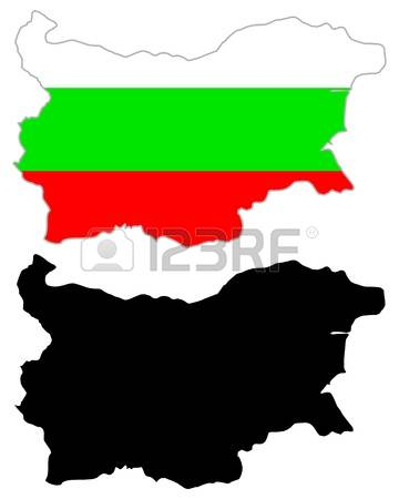 175 Bulgaria Vector Map Stock Vector Illustration And Royalty Free.