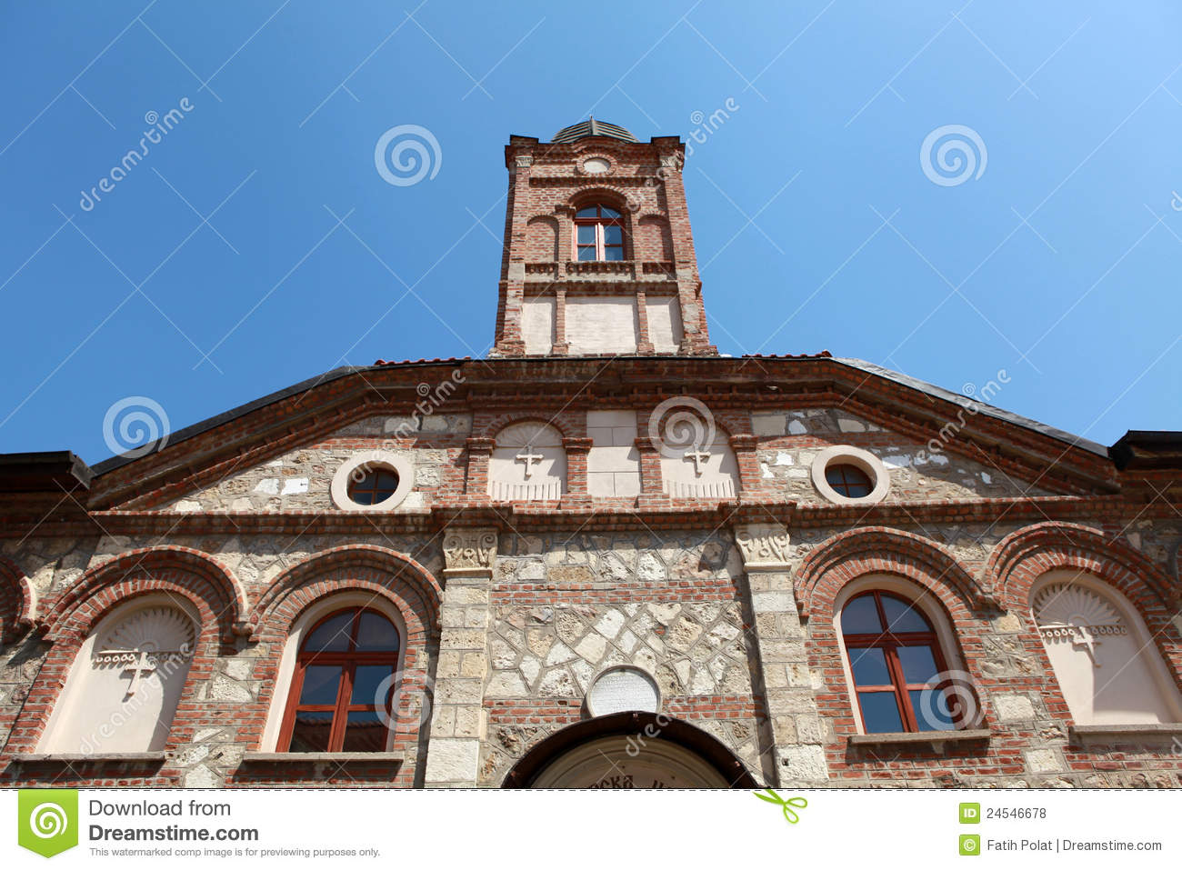 Sveti Georgi Bulgarian Church In Edirne. Royalty Free Stock Photos.