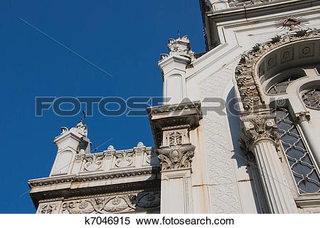 Stock Image of Bulgarian Church St Stephen In Istanbul.