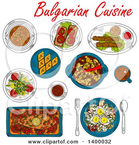 Bulgarian clipart.