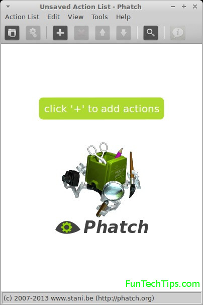 How To Resize Images With Phatch.