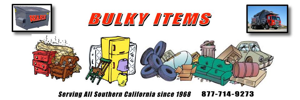 Bulky Items.