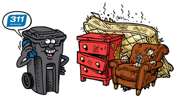 Residential Garbage Collection Service.