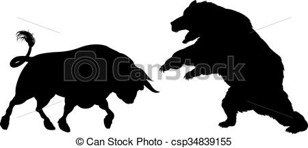 Bear and bull market Illustrations and Clipart. 1,008 Bear and bull.