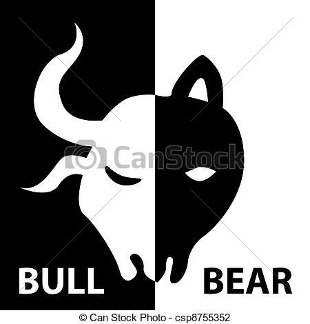 Bull and bear Illustrations and Stock Art. 2,042 Bull and bear.