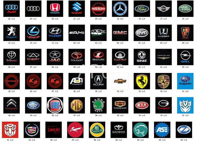 Cars Show Logos: Car Logos With Wings.