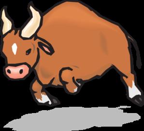 Bull pictures clip art.