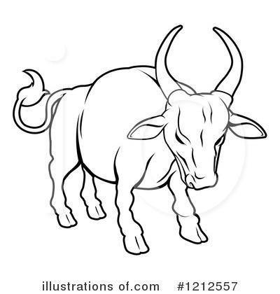 Bull Clipart Black And White.
