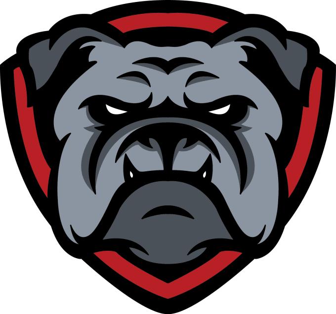 make bulldog esports logo.