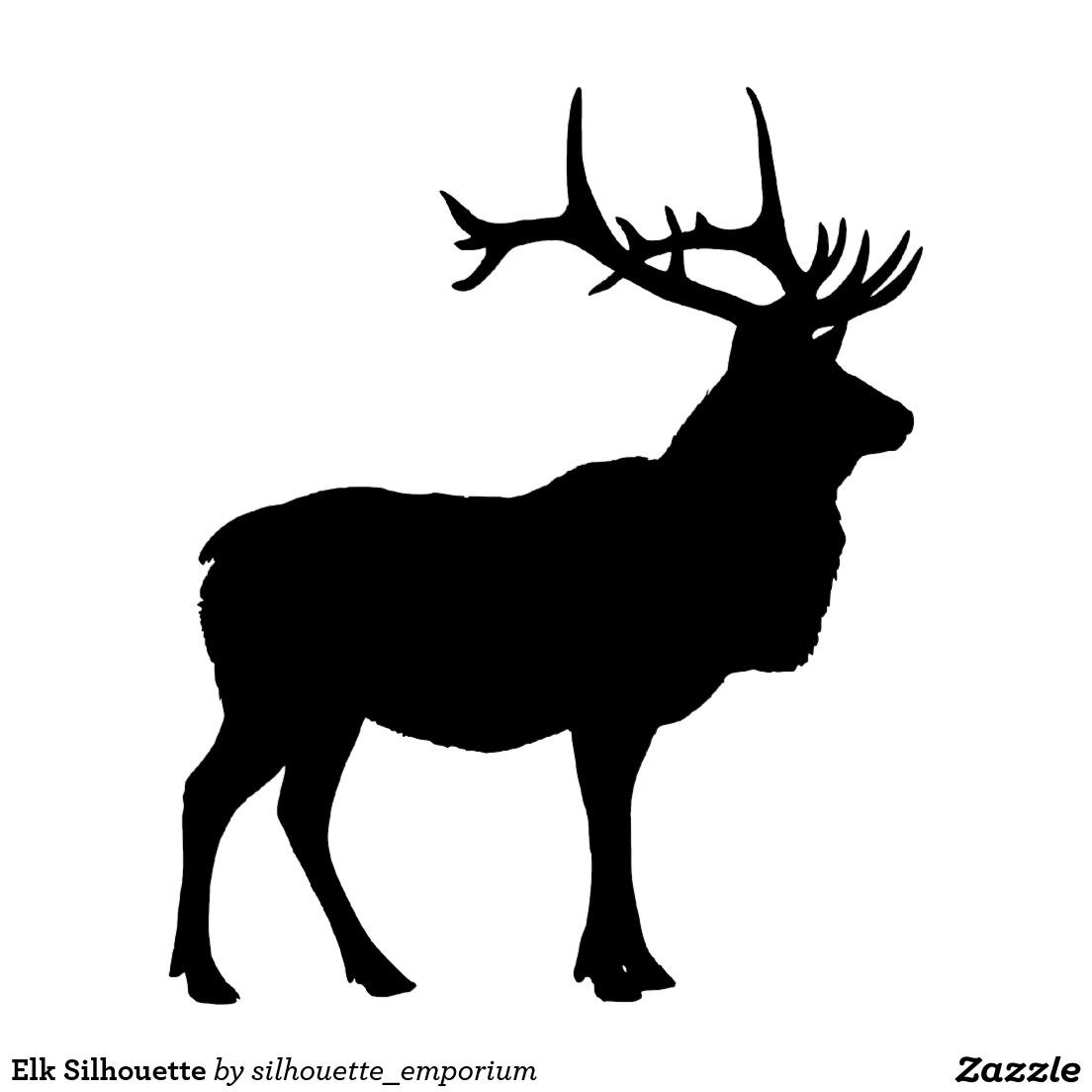 Free Elk Silhouette, Download Free Clip Art, Free Clip Art.