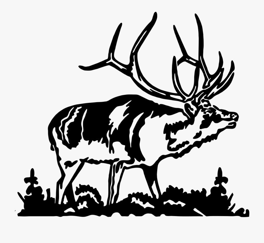 Elk Silhouette Images Dromffm Top Clipart.