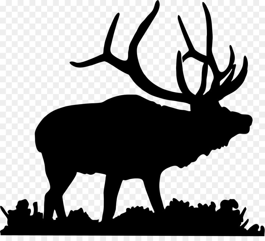 Free Bull Elk Silhouette, Download Free Clip Art, Free Clip.