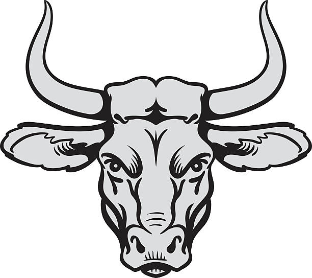 Angry bull head » Clipart Station.