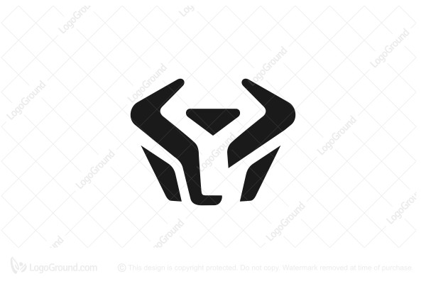 Exclusive Logo 167841, Modern Bull Head Logo.