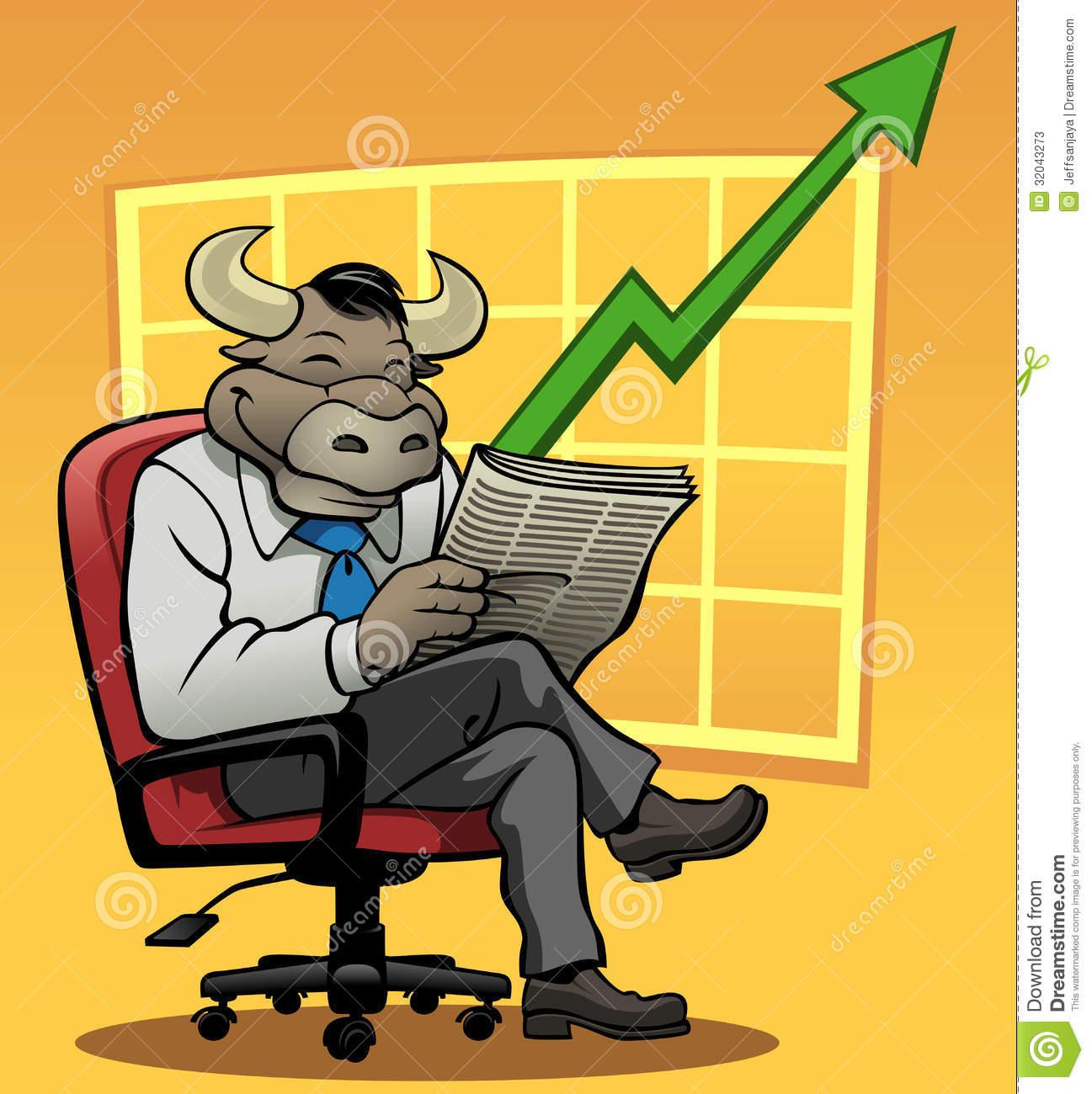 Bull Market Stock Photos.