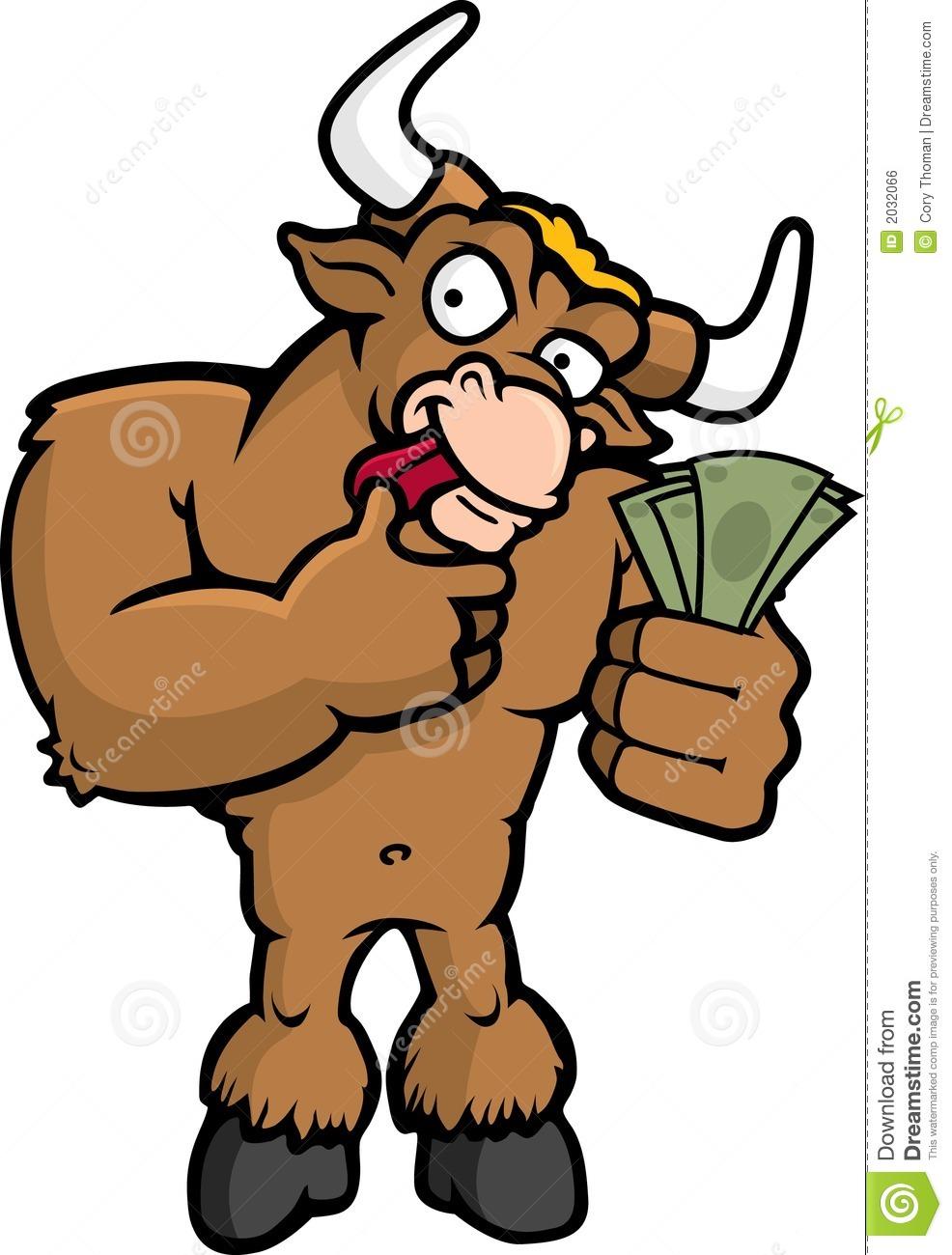 Bull Market Royalty Free Stock Image.