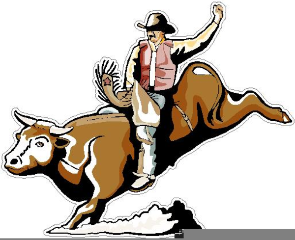 Bull Riders Clipart.