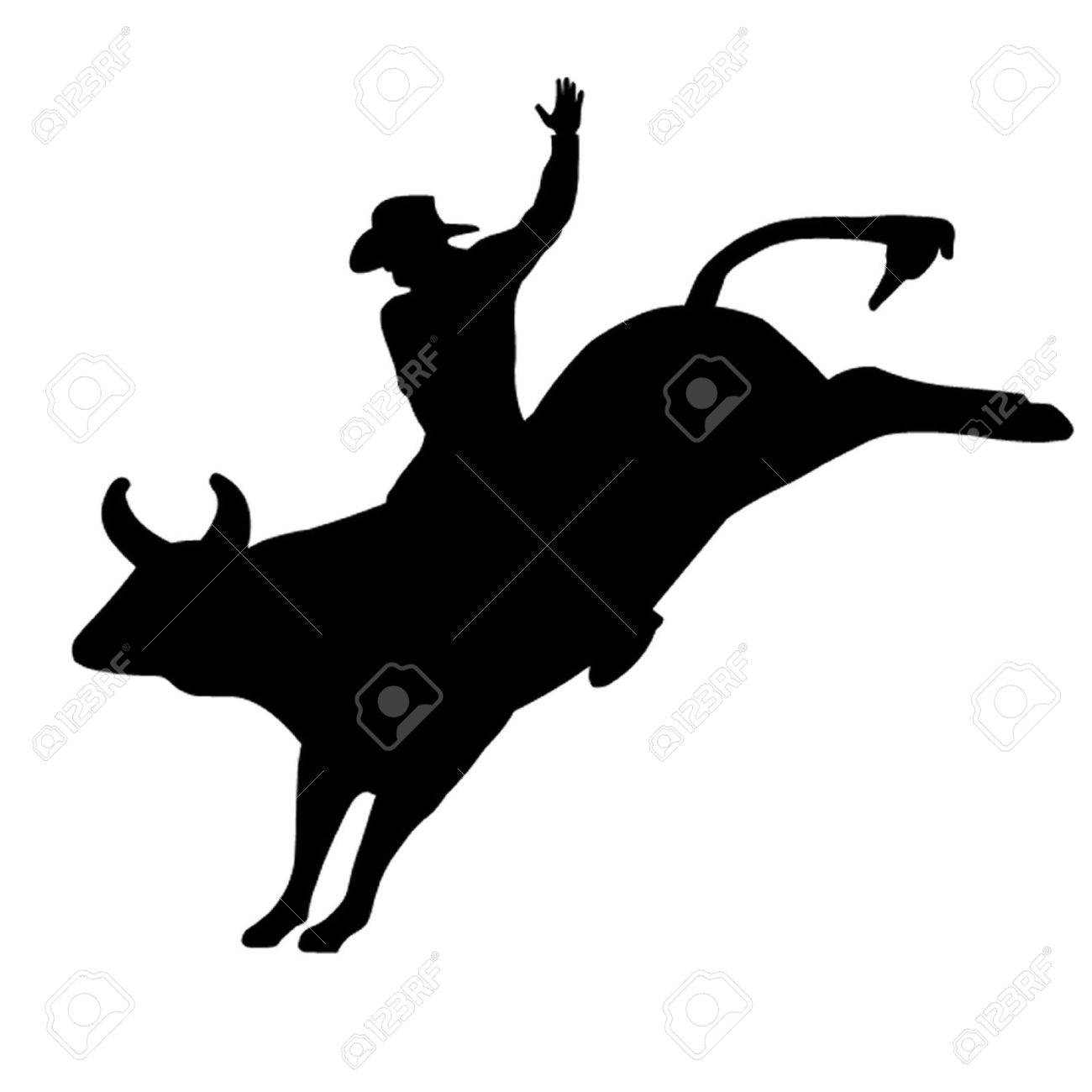 Bull rider clipart 3 » Clipart Station.