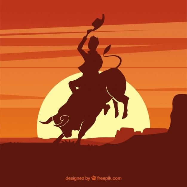 Bull Riding Vectors, Photos and PSD files.