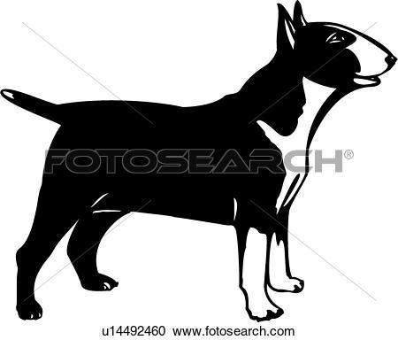 Bull terrier Clip Art EPS Images. 537 bull terrier clipart vector.